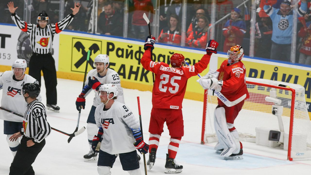 Eichel, Team USA Fall to Russia in Quarterfinals