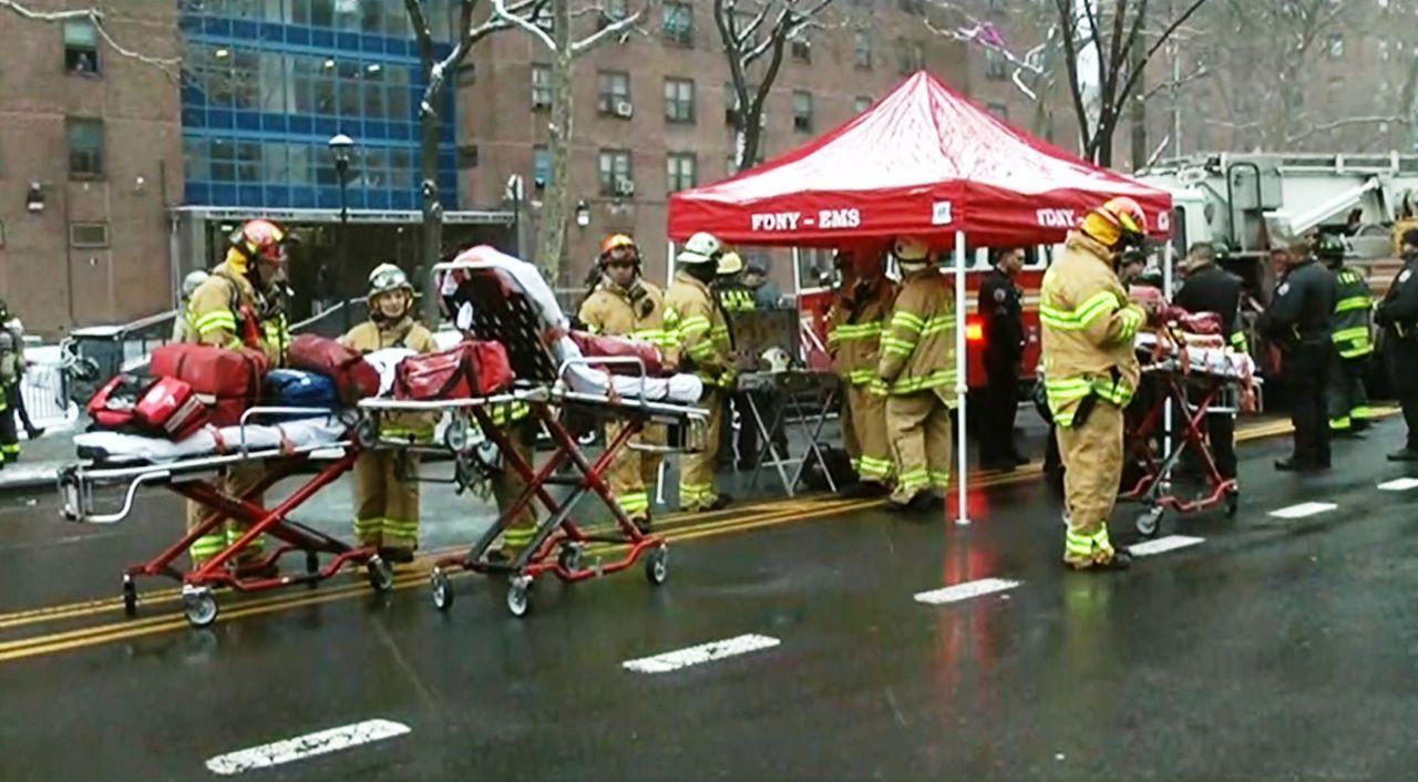 Bronx Apartment Fire Injures Five Children