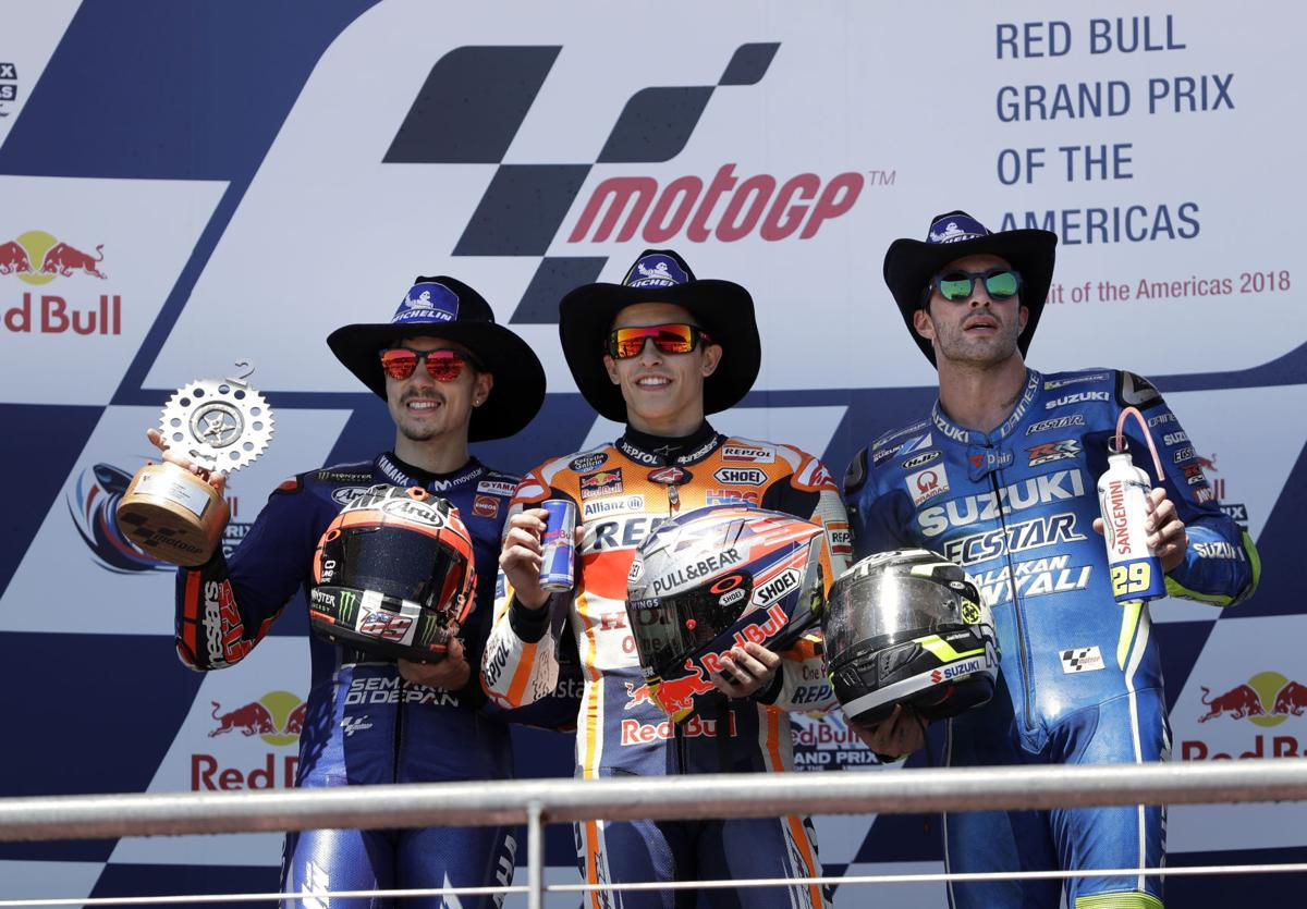 That Gap Though Spain S Marc Marquez Wins 6th Consecutive Motogp In