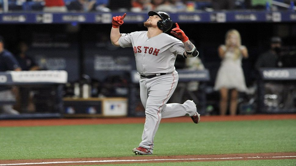 Rays Rally Falls Short Boston Pulls Even In Wild Card Race