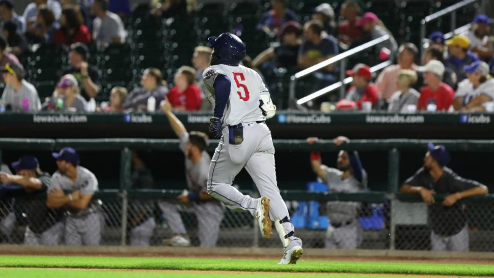 Round Rock Express Plays in Pacific Coast League Championship Game 2