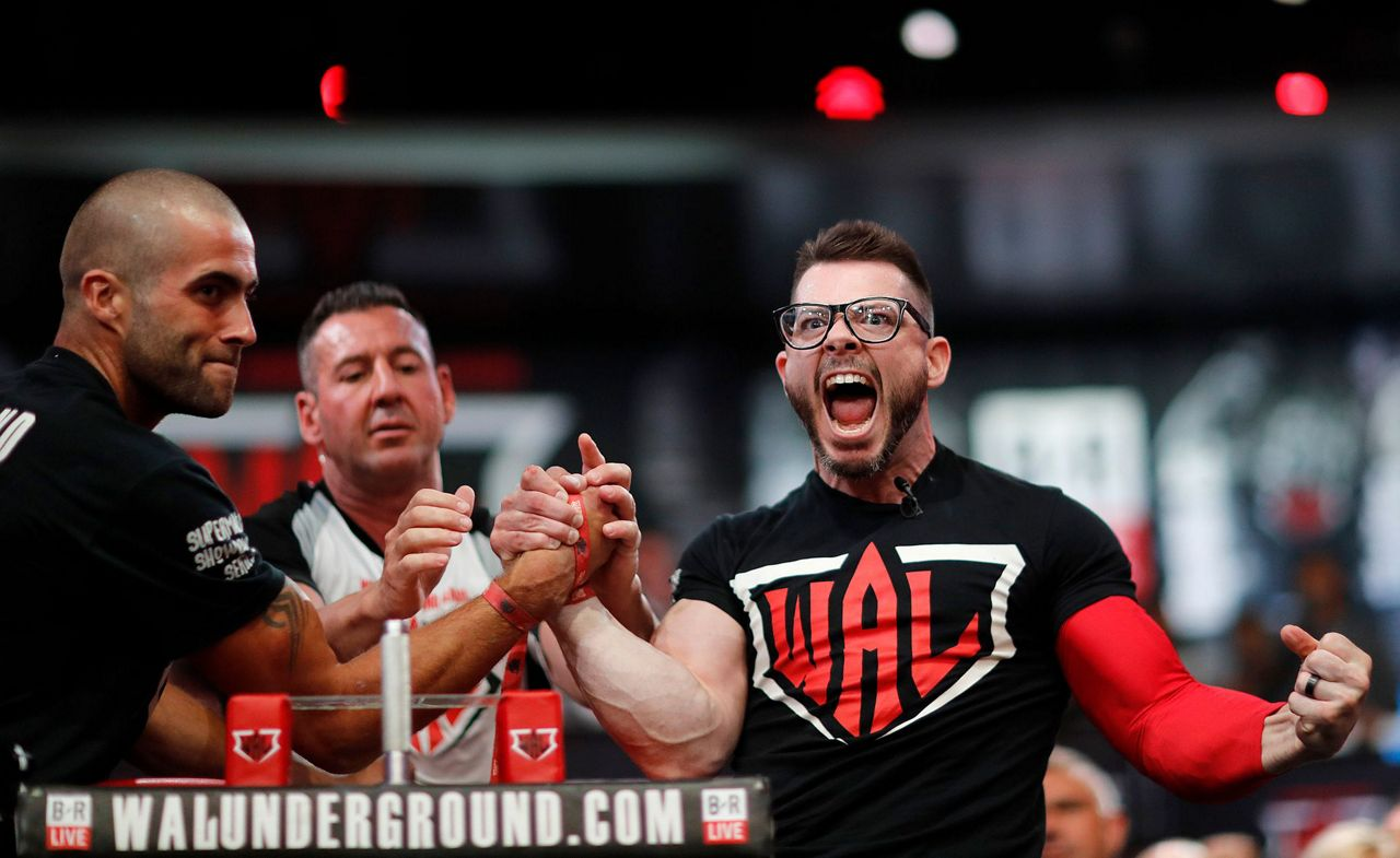 Arm Wrestling Looks To Climb Beyond Barroom Bragging Rights