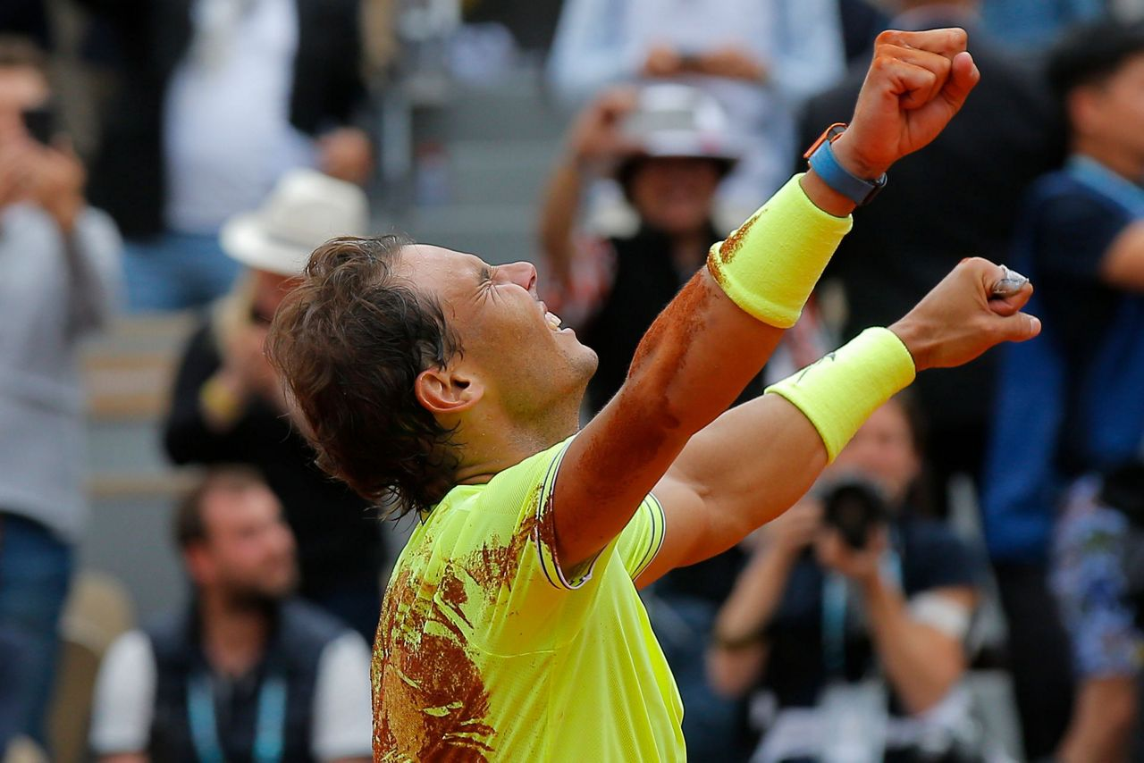 Dirty Dozen Nadal Wins 12th French Open For 18th Slam Title