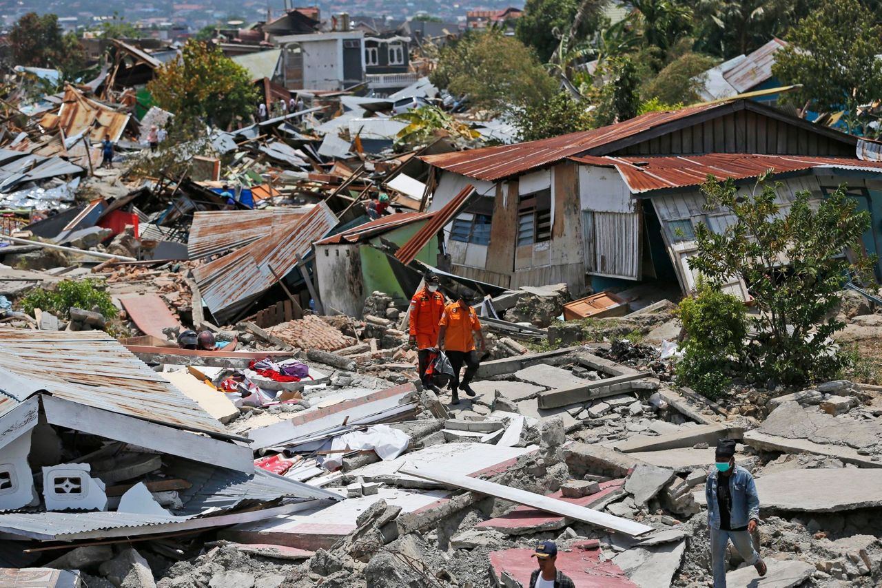 The Latest: Moderate quakes shake another part of Indonesia
