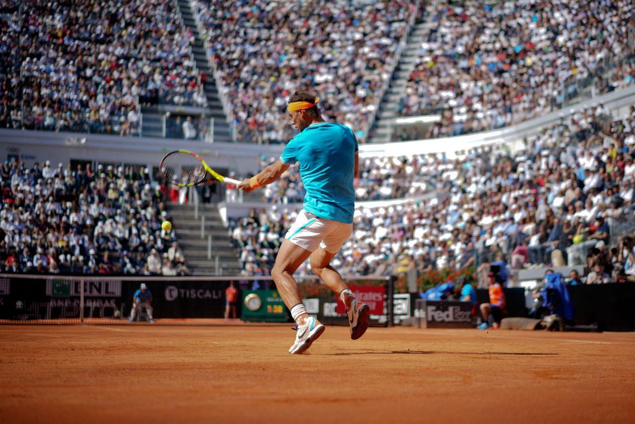 Nadal Djokovic Advance Federer And Osaka Withdraw Injured