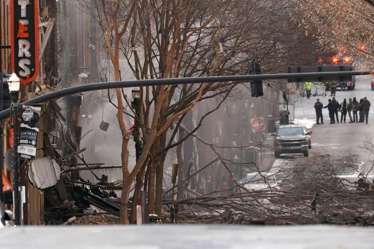 Reports Explosion Rocks Downtown Nashville