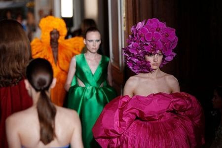 61d64a711f588 Standing ovation at Valentino caps Paris couture week