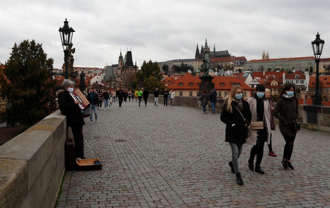 The Latest Czech Republic Imposes New Rules Amid Case Surge