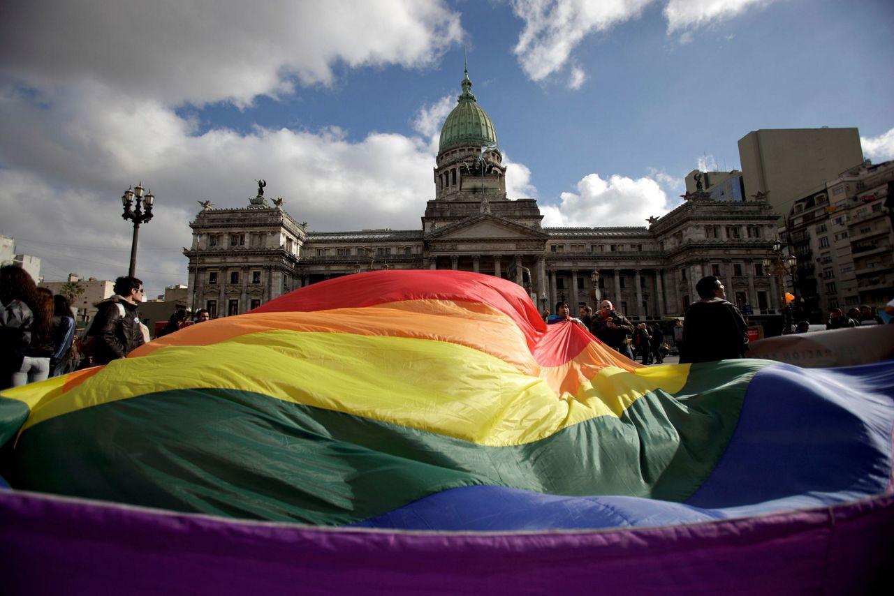 robin clarke gay rights