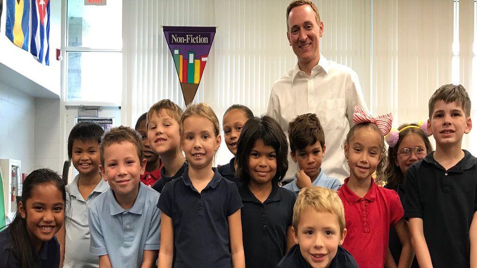Brian McClure at Mildred Helms IB World School