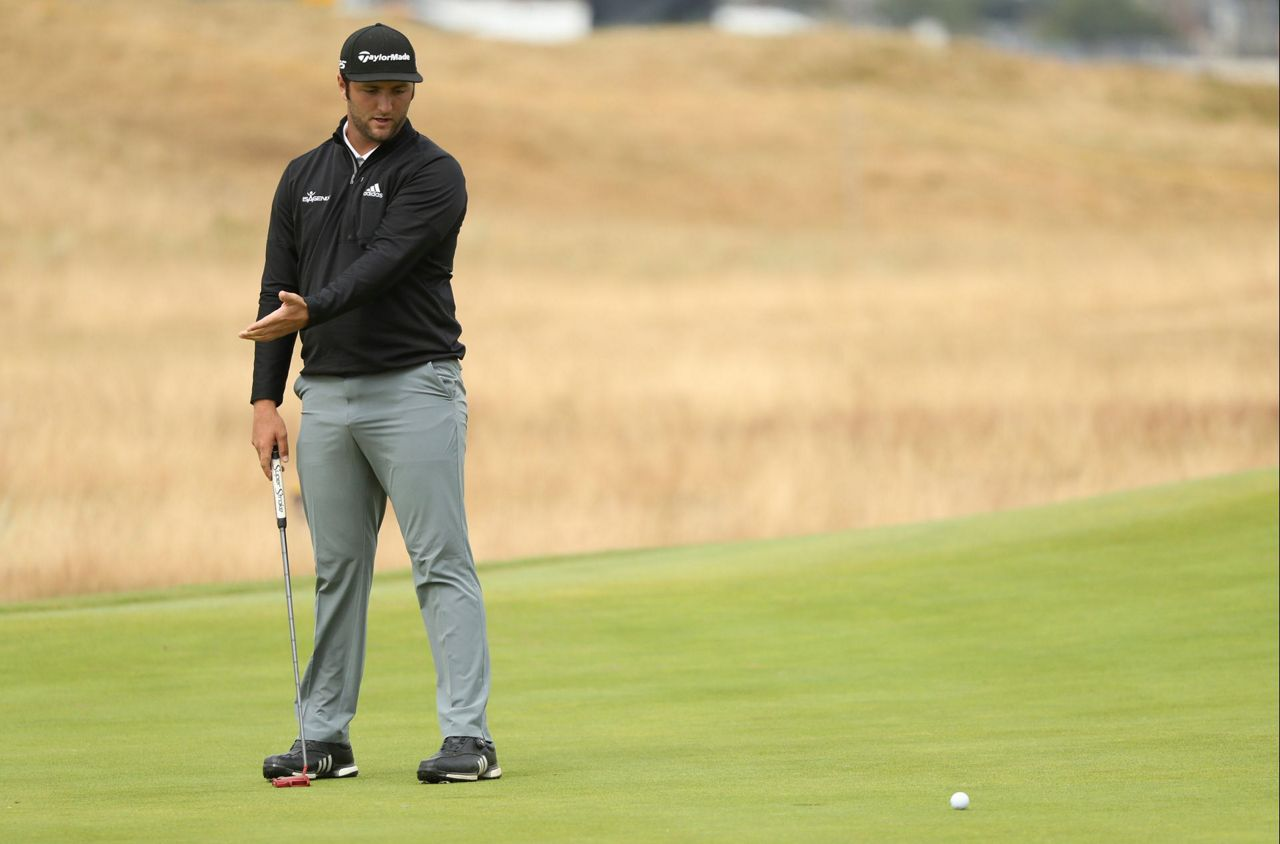 cut down  3 of top 5 players to miss weekend at british open