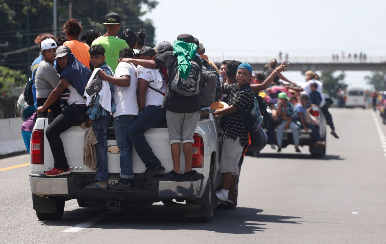 Ny 1 Weather >> Growing caravan of migrants pushes deeper into Mexico