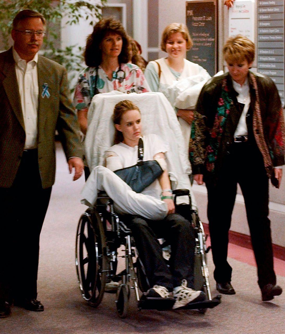 Florida High School Shooting Survivor Hid From Crazed: Columbine Survivors Raise Children In World Shaped By Attack