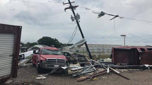 Multiple Tornadoes Reported in Fayette County