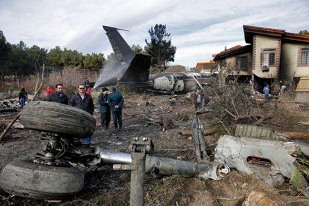 TV: Kyrgyz cargo plane crashes near Tehran, crew feared dead