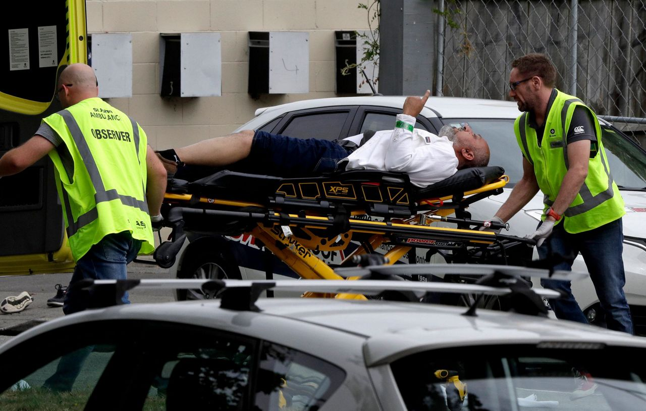 New Zealand Mosque Shooting Photo: Witness: Many Dead In New Zealand Mosque Shooting