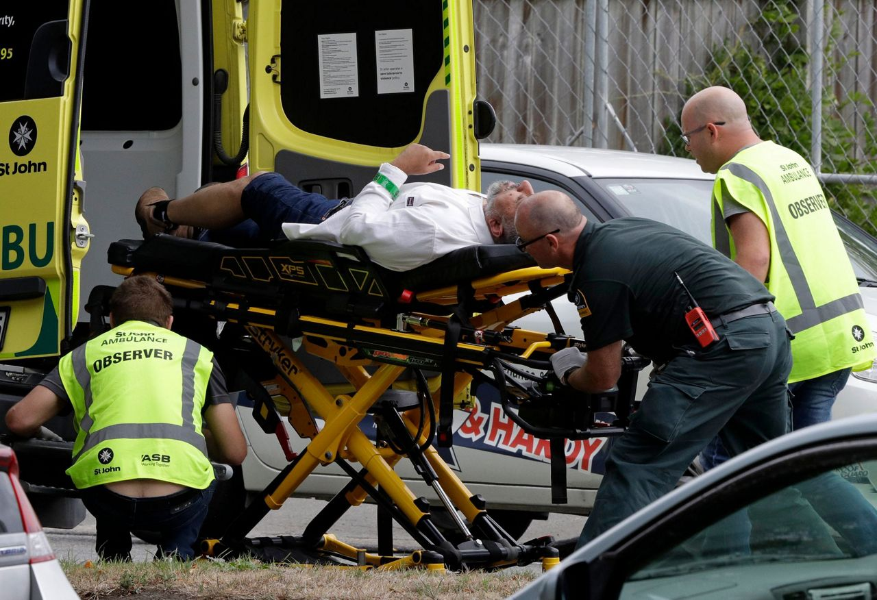 New Zealand Shooter Live Stream Image: Witness: Many Dead In New Zealand Mosque Shooting