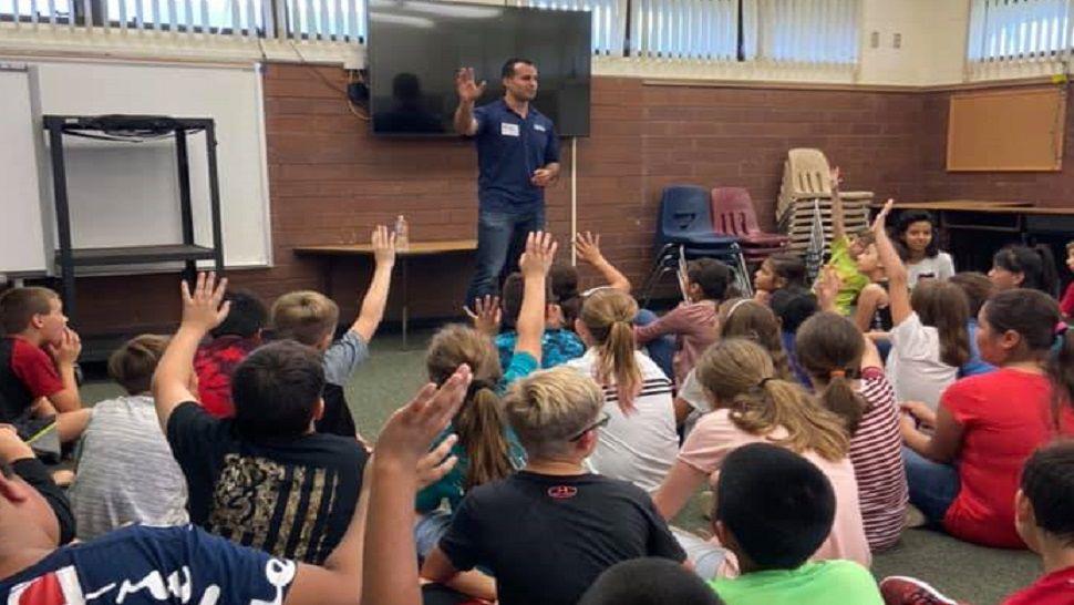 Nick Merianos at Centennial Elementary