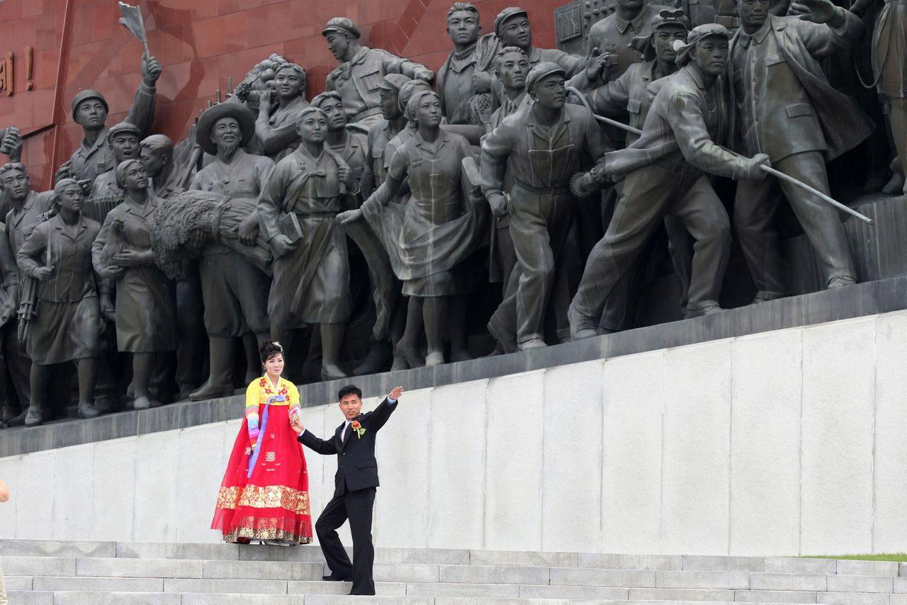 Kim Jong-un é condecorado pela Rússia por honrar memória de soldados soviéticos