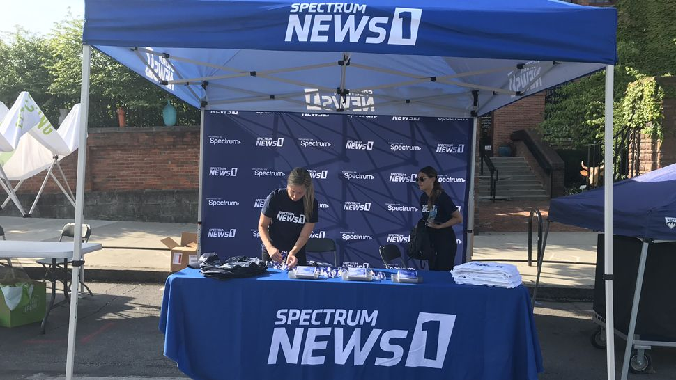 Spectrum News 1 at the food festival