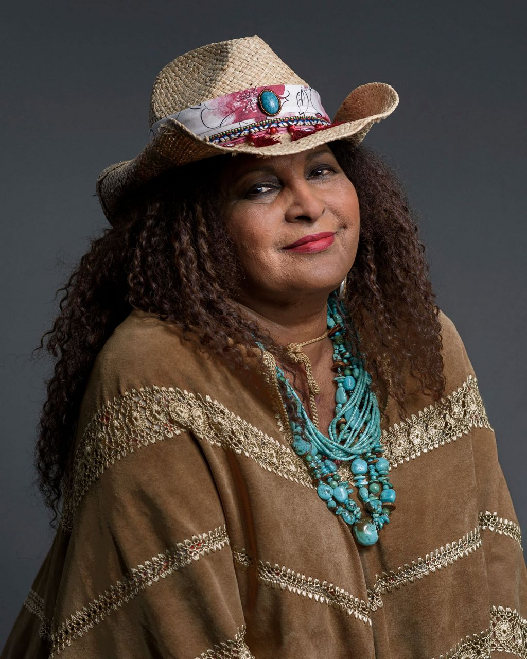 As Pam Grier celebrates 70, she finds peace of the grid
