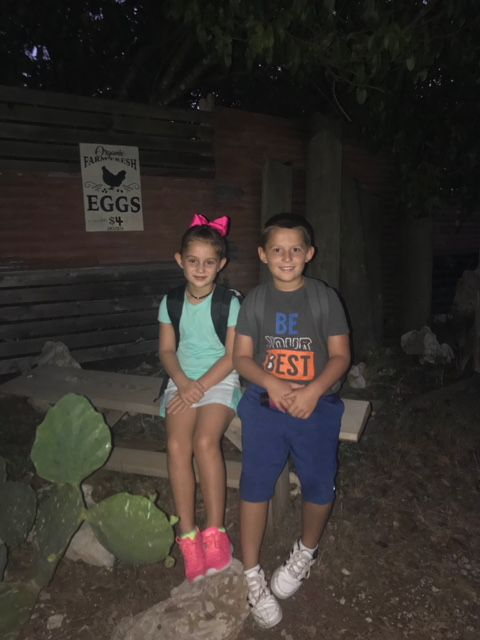 Wimberley ISD students Rylie and Braden are ready for school! (Spectrum News viewer: Cindy Reeves)
