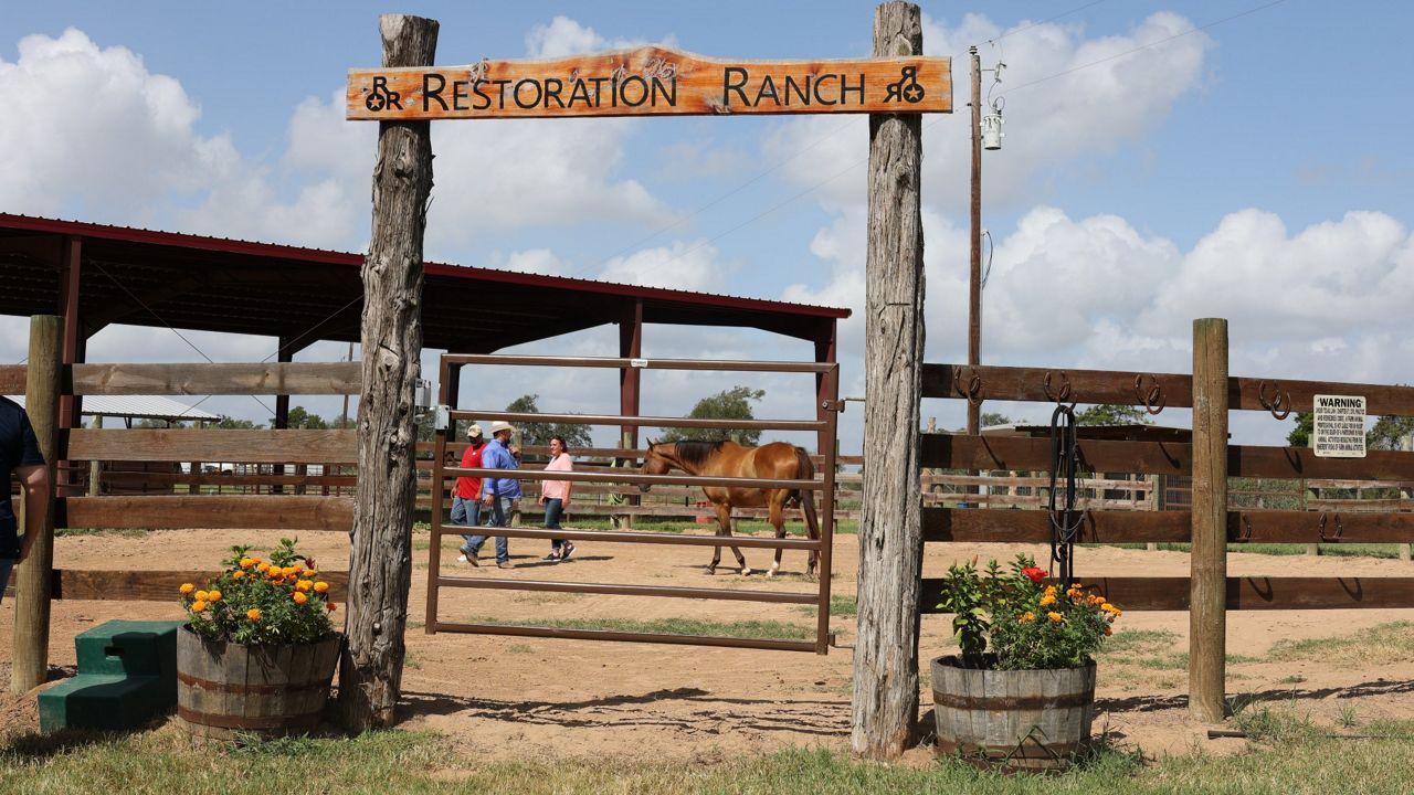 Restoration Ranch in Central Texas. (Spectrum News 1/Lakisha Lemons)