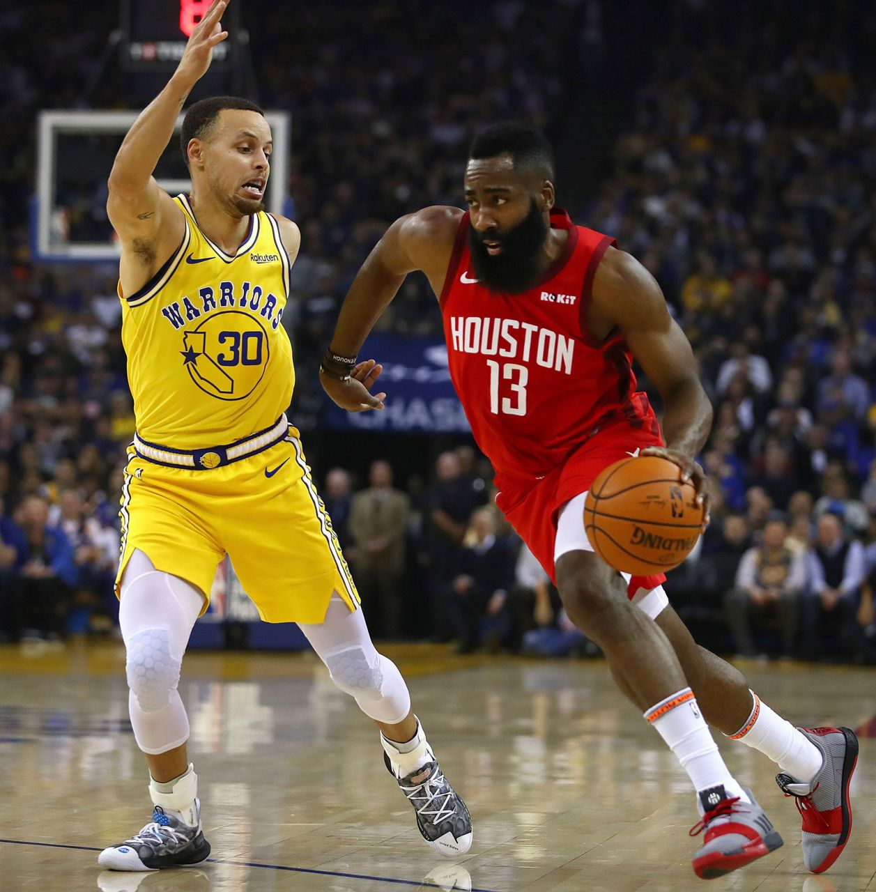 Houston Rockets House Jr: James Harden Rallies Rockets In OT To Beat Warriors 135-134
