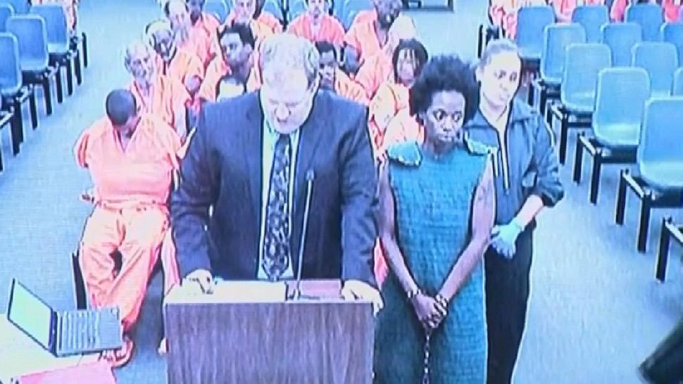 Shakayla Denson in court