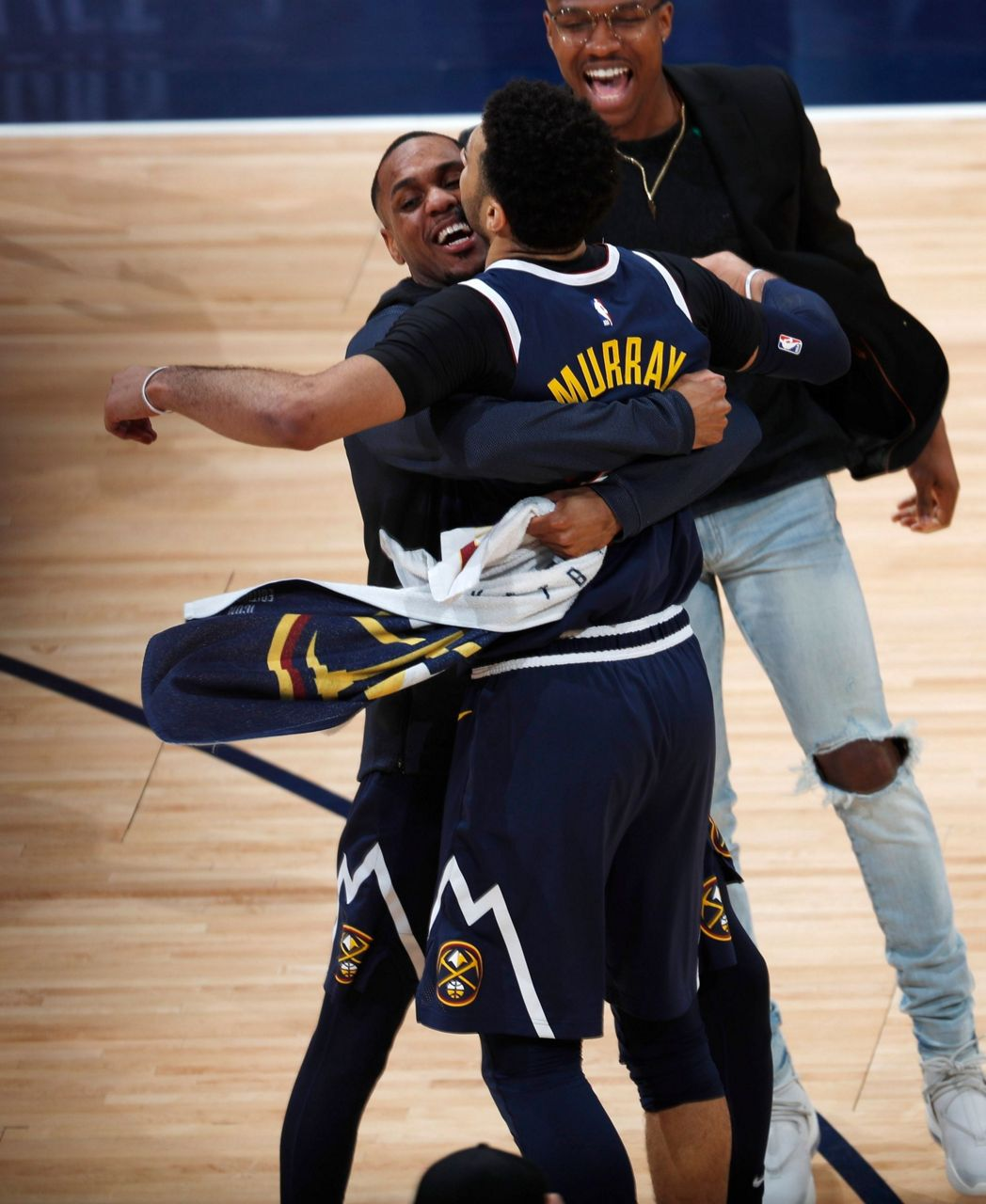 Jokic, Nuggets Hold Off Spurs 90-86 In Game 7 To Advance