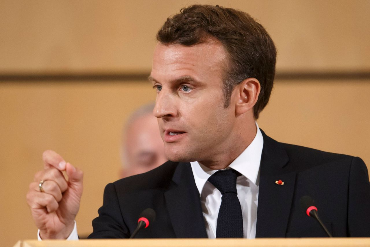 Seen As Pro Business Macron Shifts To The Left At Un Body