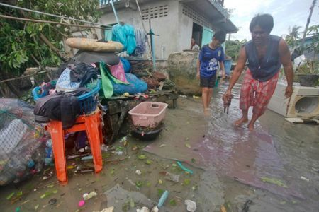 Rain, storm cross southern Thailand without major damage