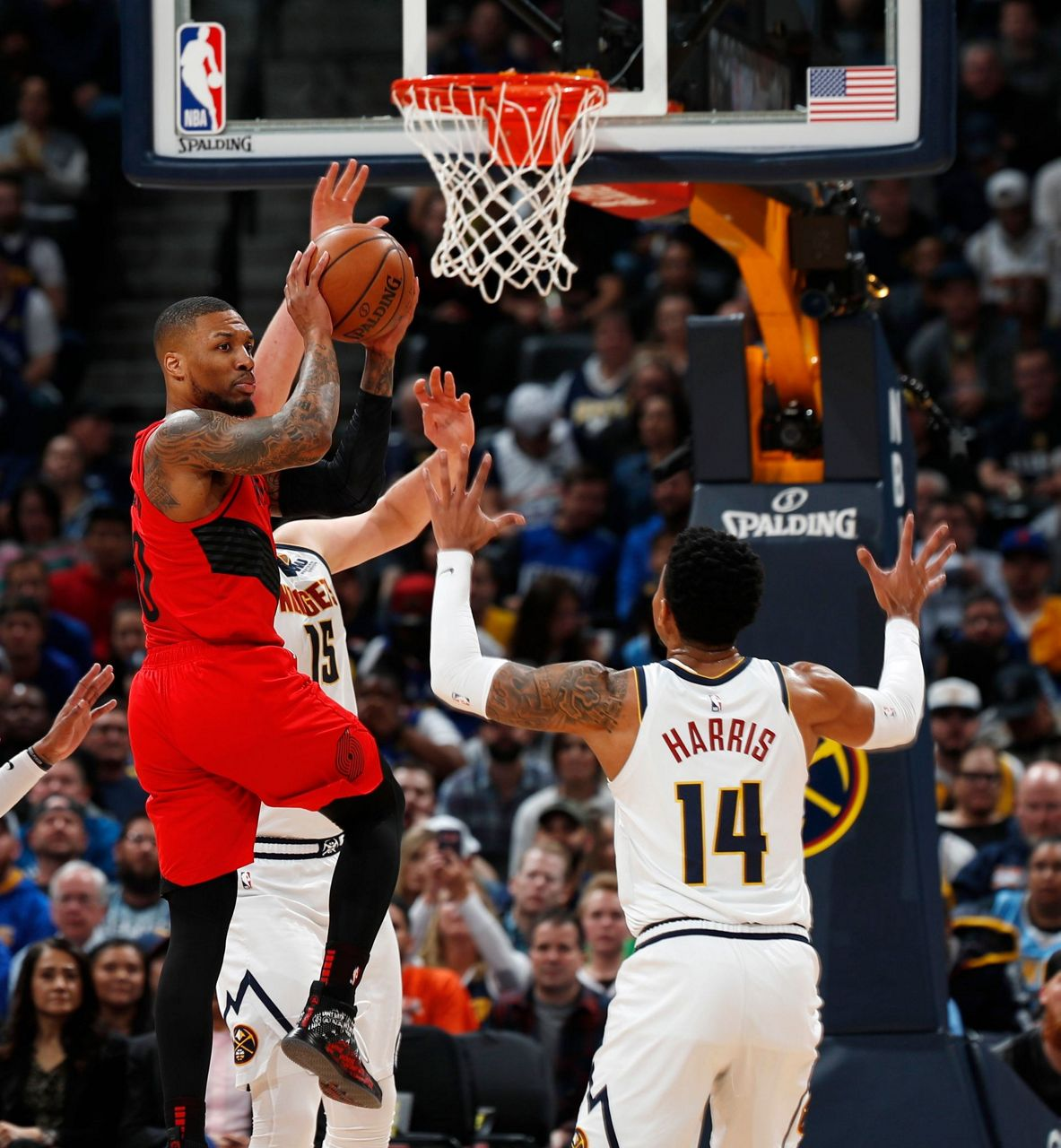 Blazers Game 3: McCollum Leads Blazers Past Cold Nuggets, 97-90