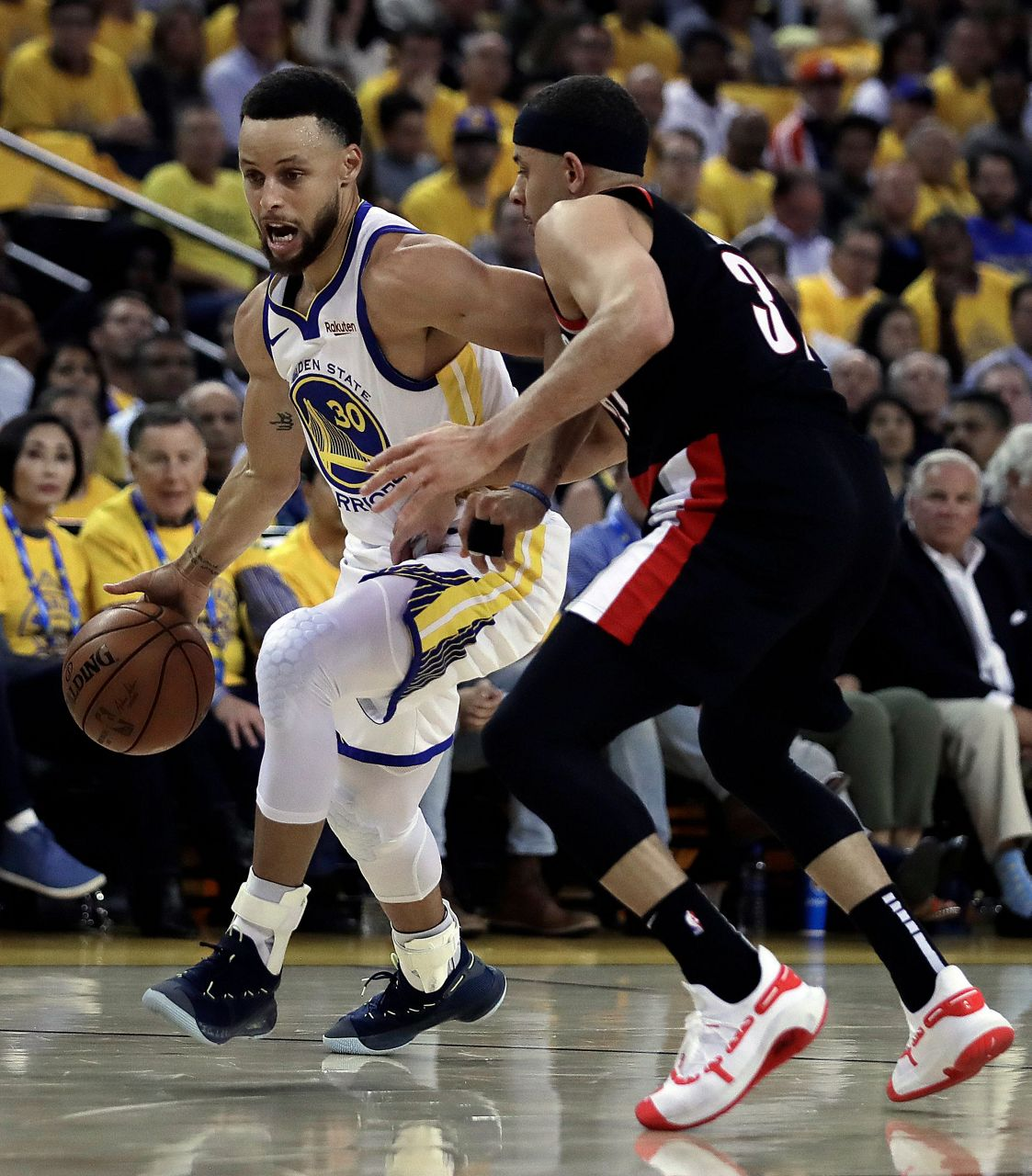 Portland Trail Blazers Vs Warriors: Curry, Warriors Take Game 1 Of Western Conference Finals