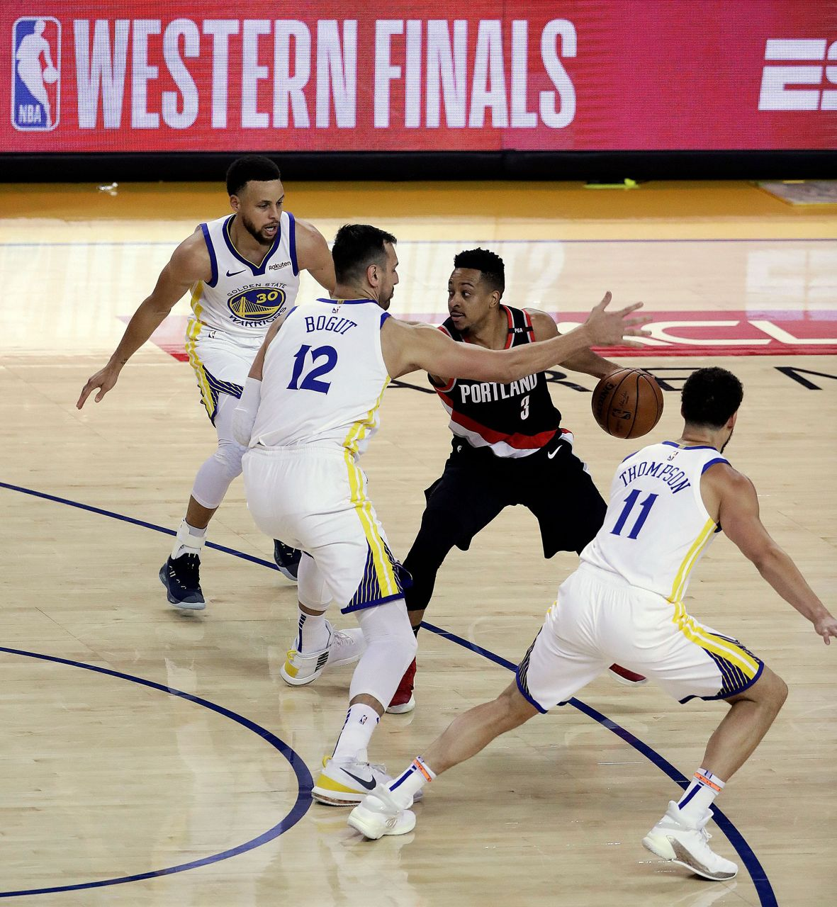 warriors-trail blazers - photo #2