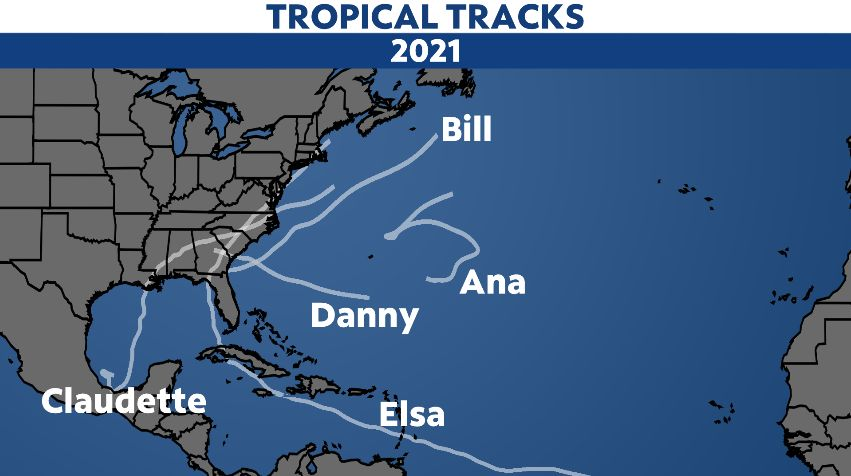 The hurricane season typically becomes more active in August