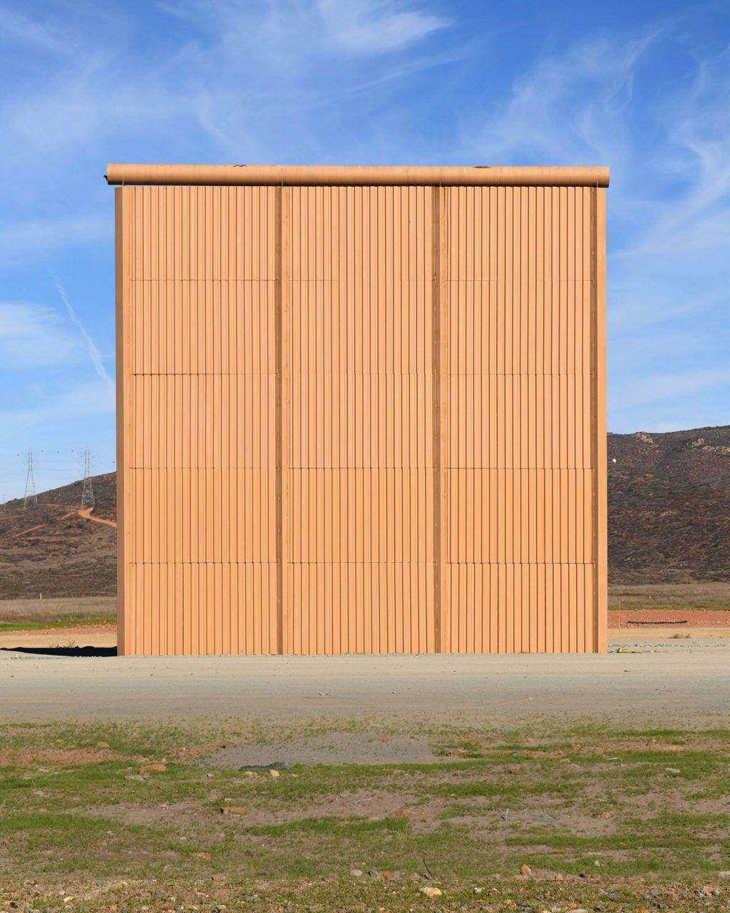 Ny 1 Weather >> AP PHOTOS: Wall prototypes sit on the US-Mexico border