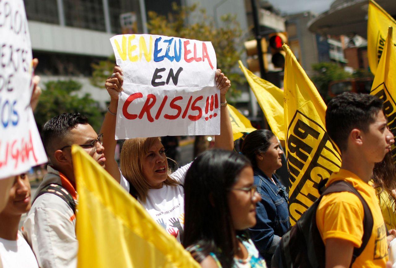 Venezuelan protests seek Maduros ouster