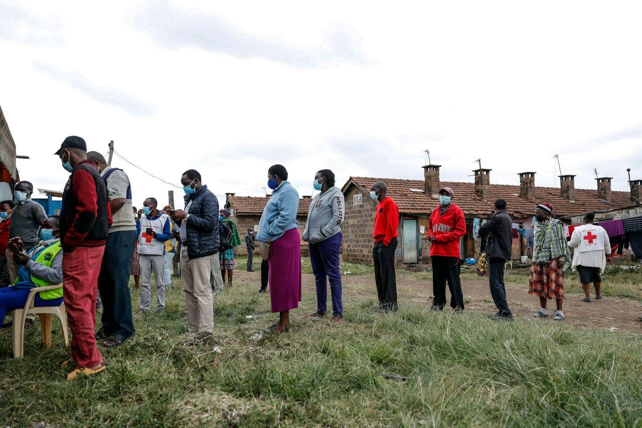 Virus Outbreak Donation Dependency Kenya 12550