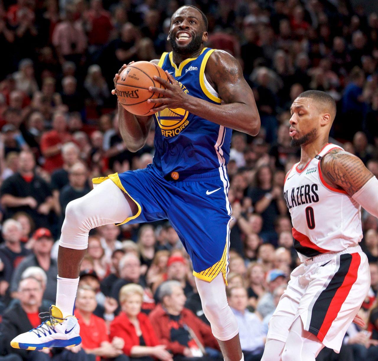 Portland Blazers 2019: Green, Warriors Beat Blazers For 3-0 Lead In West Finals