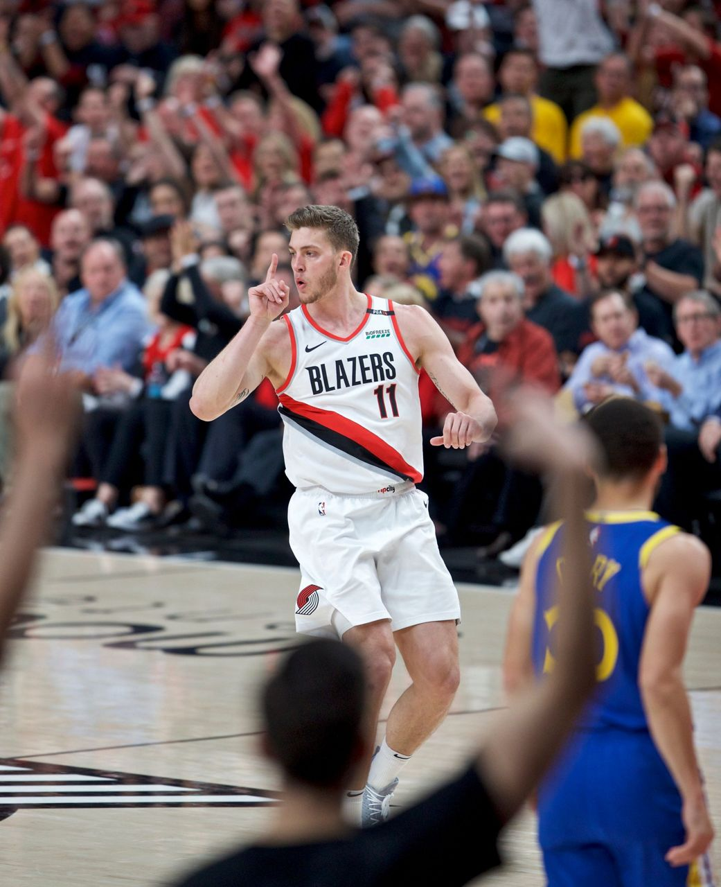 Portland Trail Blazers Basketball: Green, Warriors Beat Blazers For 3-0 Lead In West Finals