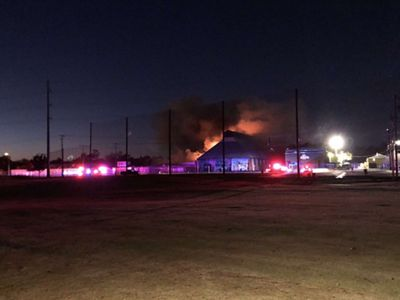 Fire Reignites on Wurstfest Grounds in New Braunfels