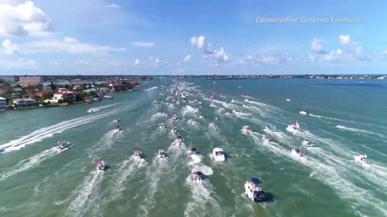 Dueling boat parades scheduled for Saturday in Tampa