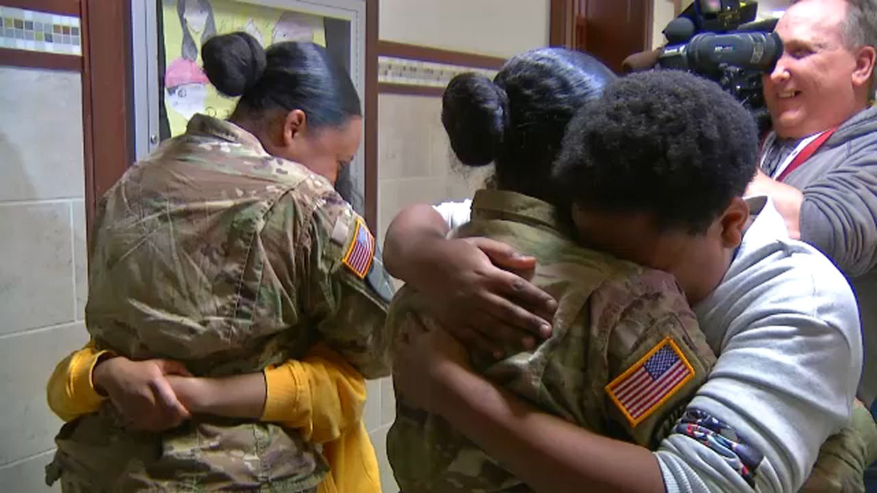 2dc40f02c55 Military Homecoming Leaves Family in Tears