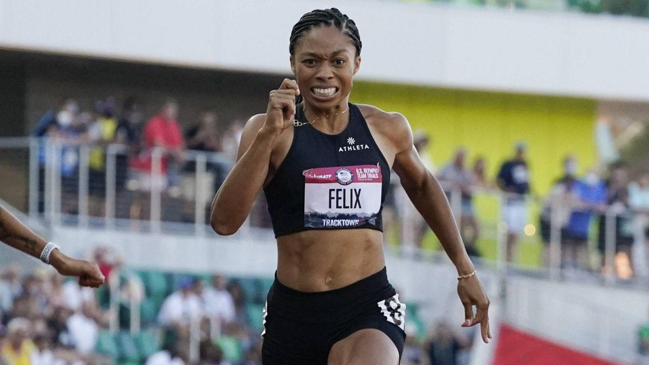 Allyson Felix (AP Photo, File)