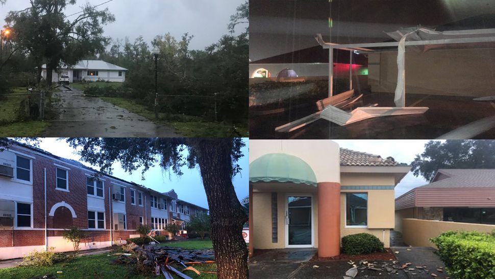 Storm damage Oct. 19, 2019
