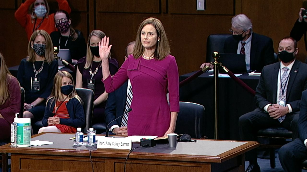 Senate Vote on Amy Coney Barrett's Supreme Court Confirmation Set For Oct. 26, McConnell Says