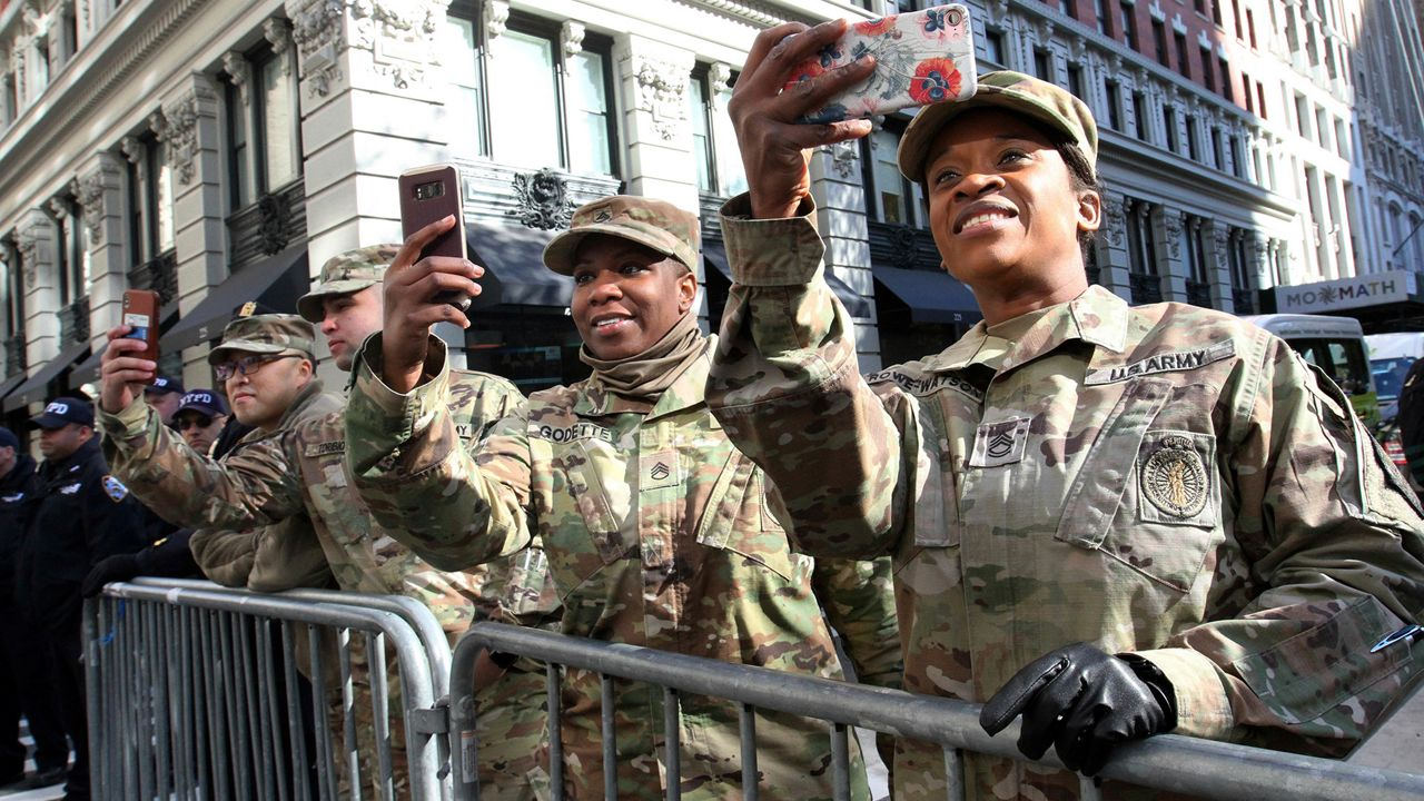 Image result for vintage photos veterans day parades black americans