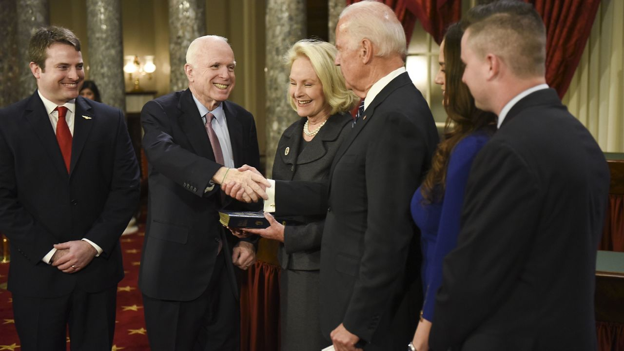 Cindy McCain, Wife of John McCain, Endorses Joe Biden