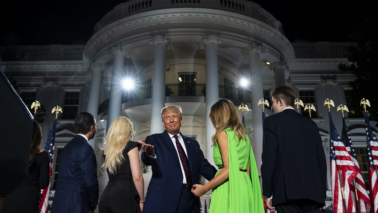 Report: President Trump Changes Election Night Plans, May Spend It At White House
